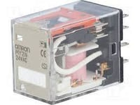 General Purpose Relays DPDT 24 VDC 10 A