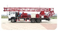 SPC-600 Truck-Mounted 600m Water Well Drilling Machine
