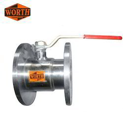 Ss Single Pcs Design Flanged Ball Valves