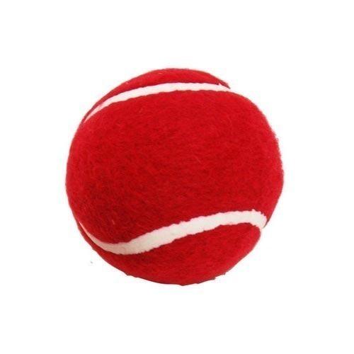 Seamless Finish Red Tennis Ball