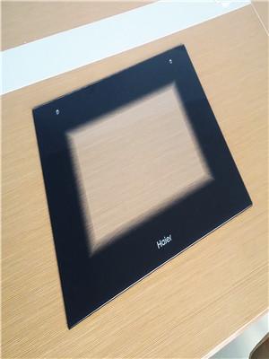 Silk Screen Tempered Oven Glass Door