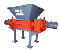 Un-Qualidied Products Double Shaft Shredder