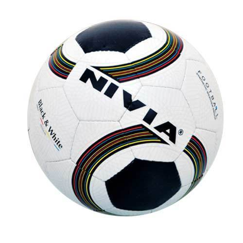 Black And White Football (Nivia)