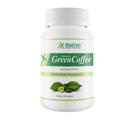 Green Coffee 500 Mg. Capsules