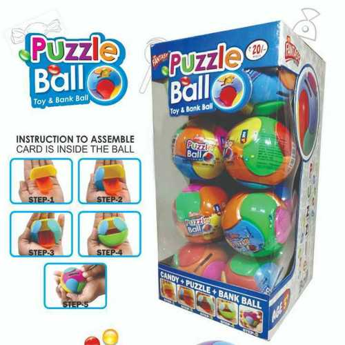 Printed Puzzle Ball Toy