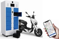 Intelligent Battery Swap Station For Electric Light Vehicles