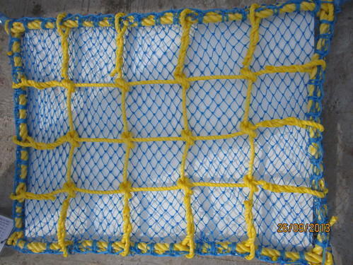Passing With Knotted Safety Net