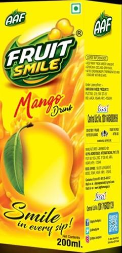 Tetra Pack 200ml Mango Drink - KONTAY BEVERAGES, LOHAR HERI