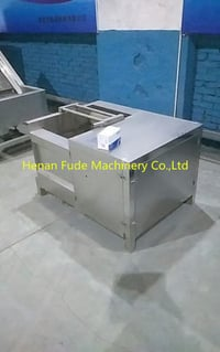 Vegetable Cleaning And Peeling Machine