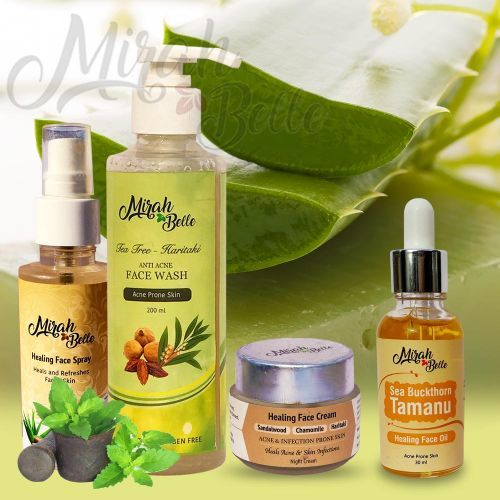 Herbal Face Wash Spray And Cream
