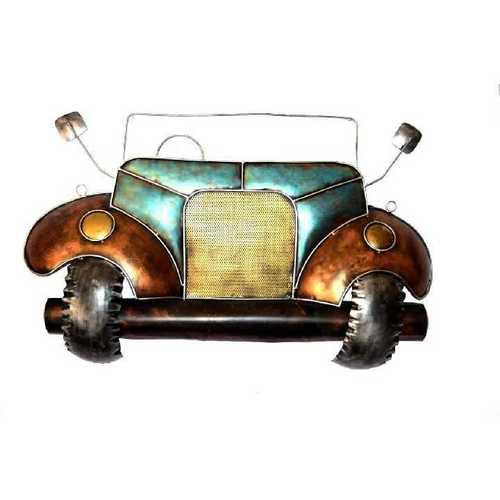 Metal Wall Art Car