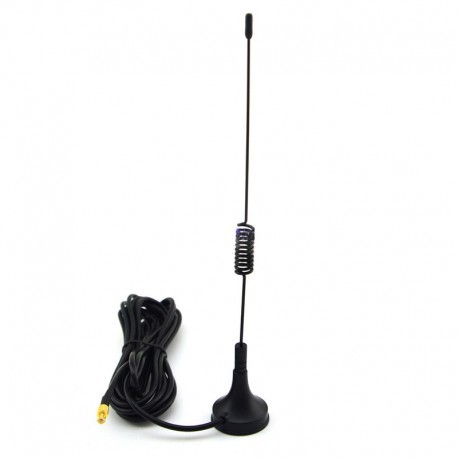GSM 3dbi Magnetic Base Antenna With MCX Male Connector