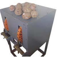 Automatic Coconut Deshelling Machine
