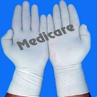 Medicare White Surgical Gloves