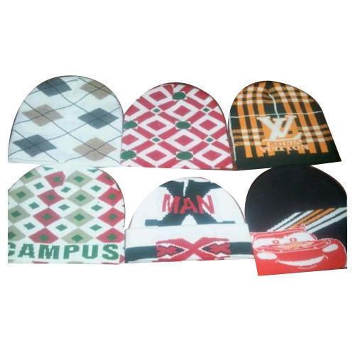 221689e70a3 Mens Fancy Woolen Cap in Ludhiana, Punjab - Gee Ess Knitwears