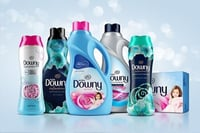 Downy Fabric Softener And Dryer Sheet