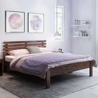 Pure Wooden Double Bed