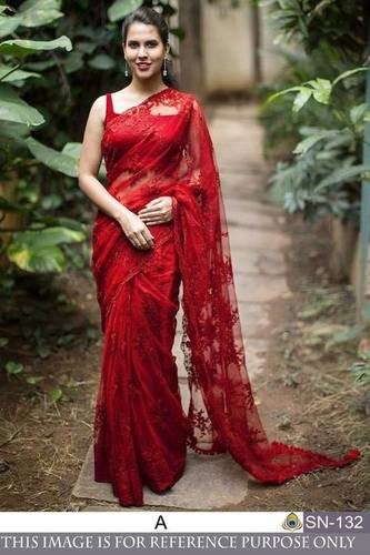 Stylish Look Ladies Saree