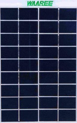 Waaree 100 Watt Solar Panel - WS-100 (Pack of 2)