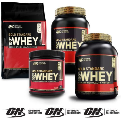 100% Optimum Nutrition Gold Standard Whey Protein