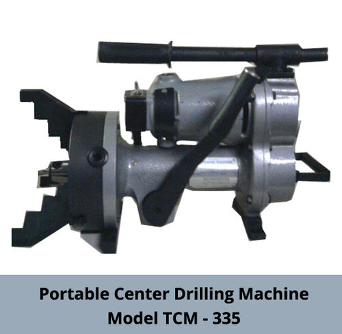 Portable Center Drilling Machine