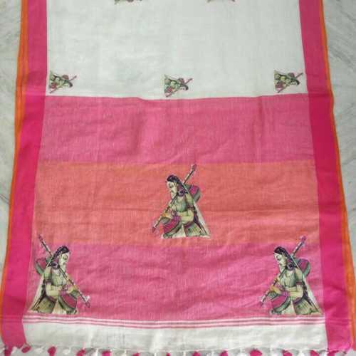 Ladies Kalamkari Patchwork Sarees