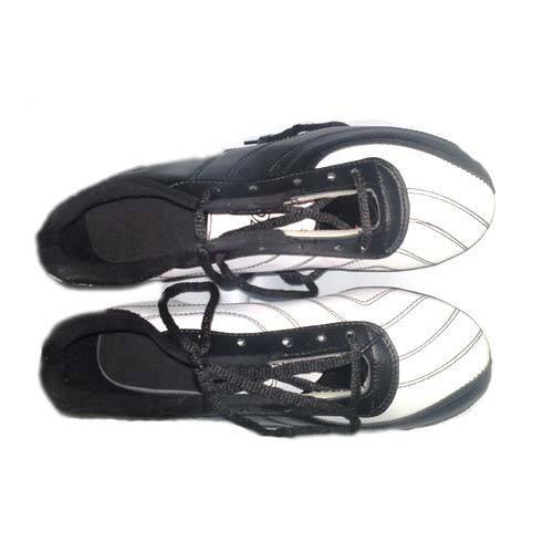 Black White Side Pair Shoes