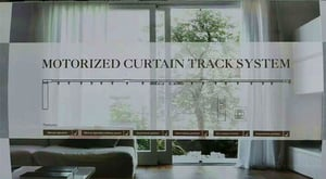 Motorized Curtain Track System