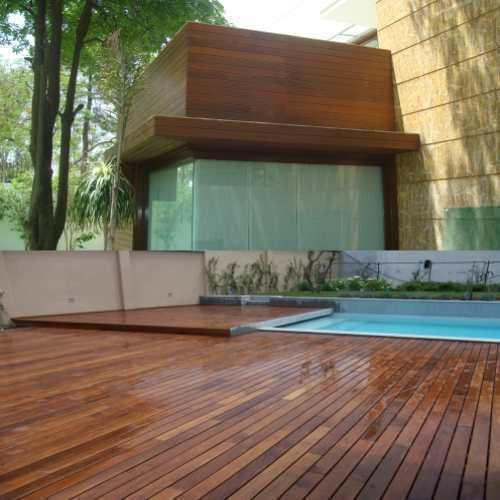 Cumaru Solid Wood Floor For Exteriors