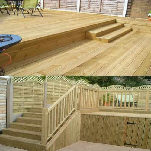 Yellow Ballau Solid Wood Floor For Exteriors