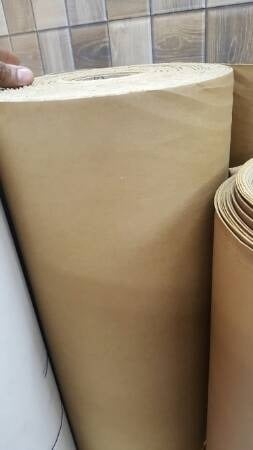 White Good Quality Leather Textured Paper