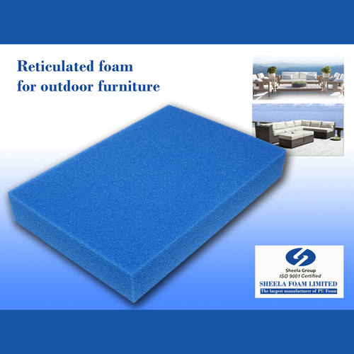Outdoor Furniture Reticulated Foam Sheet