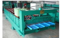 Color Coated Roofing Machine