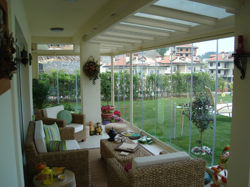 Folding Glass Balcony