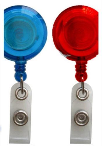 Plastic ID Badge Reel