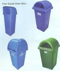 Swing Plastic Litter Dustbin