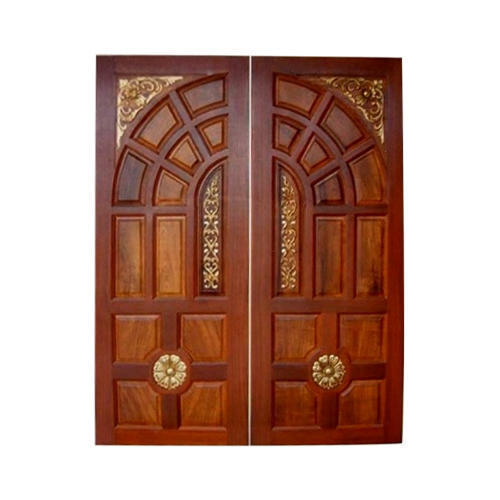 Teak Wood Double Door At Best Price In Coimbatore Tamil