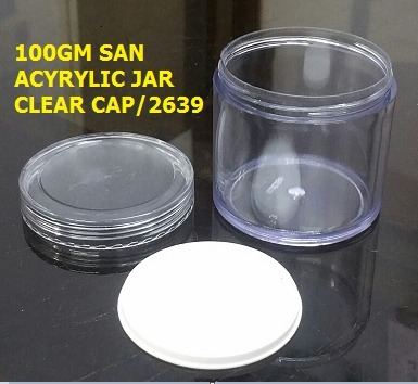 High Strength 100GM Acrylic Container