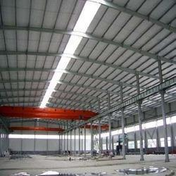Low Maintenance Prefabricated Factory Shed