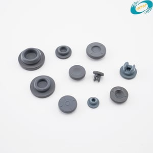 PTFE Coated Rubber Stopper for Sealing Injection Bottles