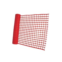 Red Nylon Safety Fence