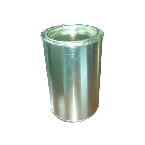 Cylindrical Ghee Tin Container
