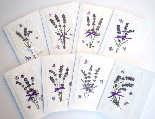 Handmade Pressed Flower Cards
