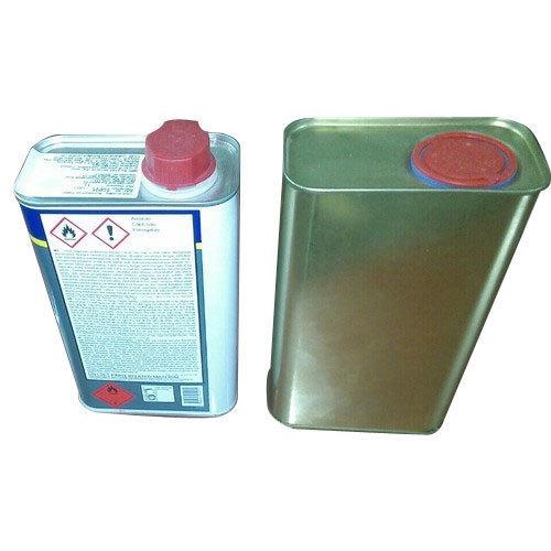 Rectangular 1 Lt Tin Container