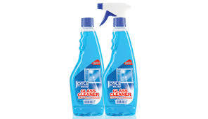Glass Cleaner Blue Liquid