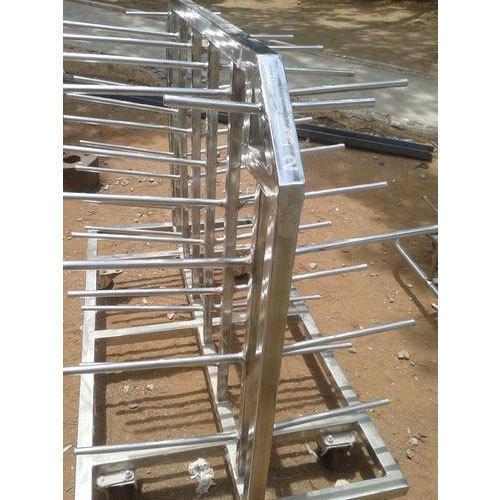 Stainless Steel Bobbin Trolley