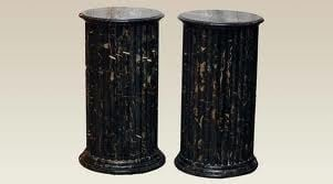 Durable Finish Dining Table Pedestals