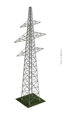Fully Electric Transmission Tower
