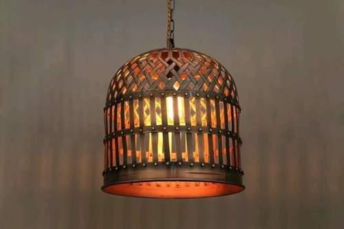 Designer Brass Hanging Lamp