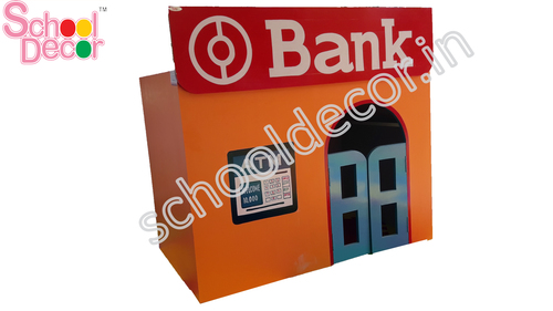 Wooden Bank Model